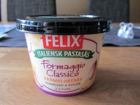Färdig pastasås från Felix