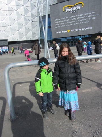 Genrepet av Melodifestivalen i Friends Arena