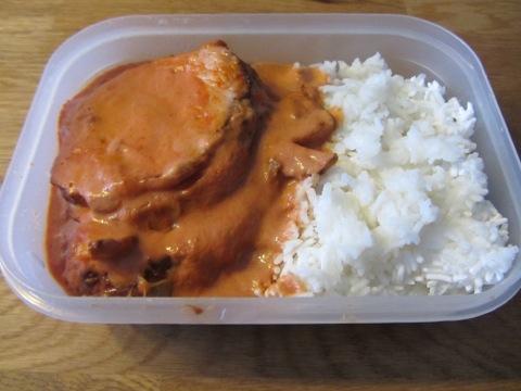 kassler och ris