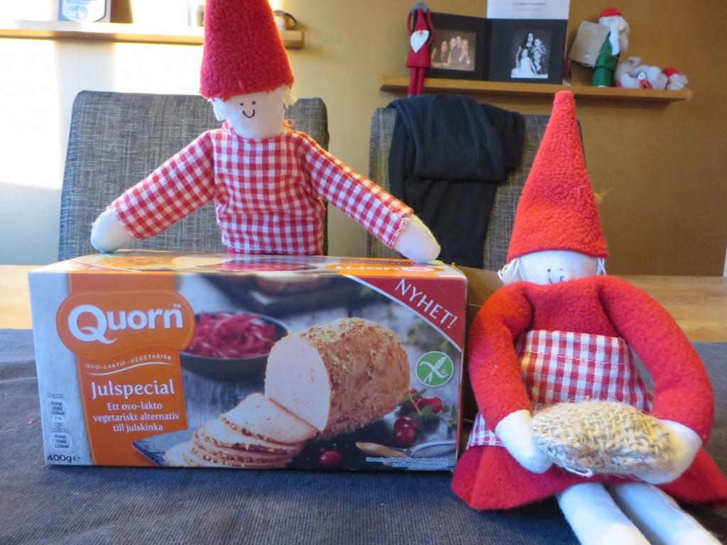 En grönare jul med Quorn