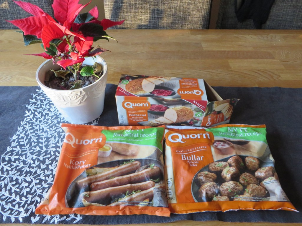 Vegetariska alternativ på julbordet