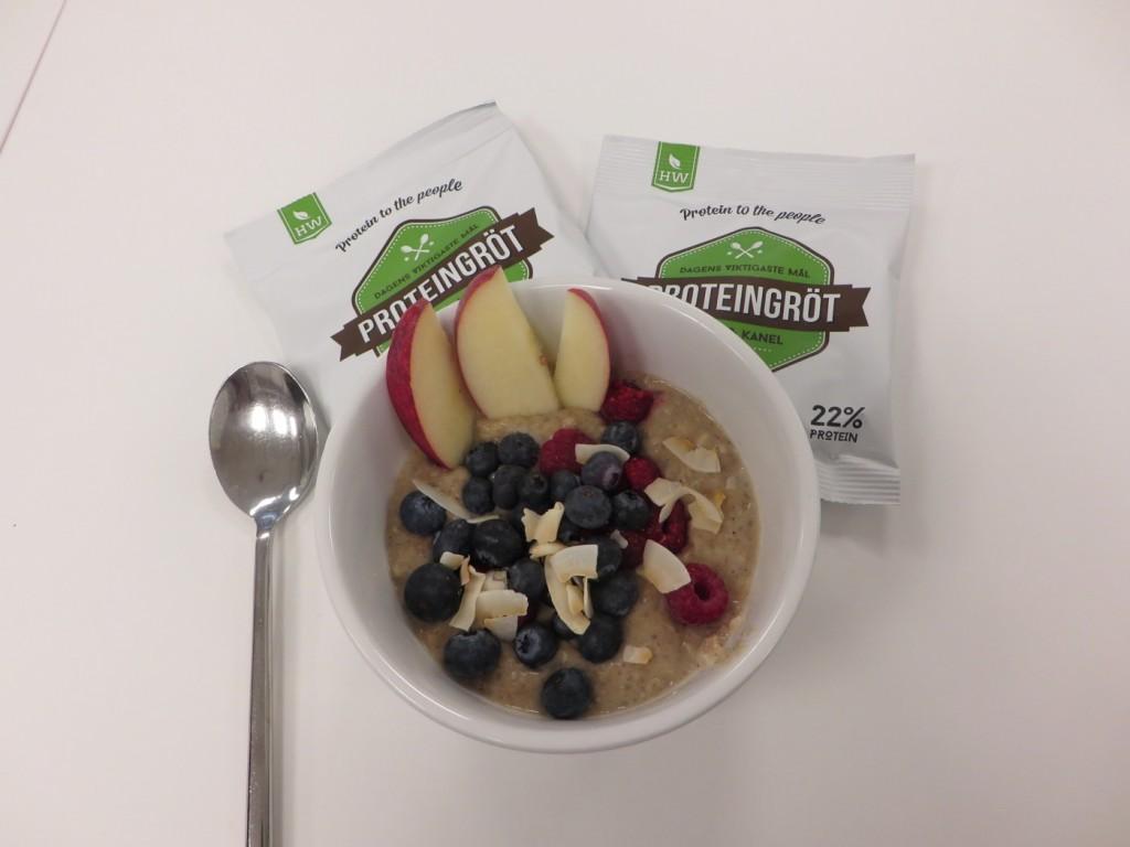Proteingröten är både nyttig, fantastiskt god och mättande!