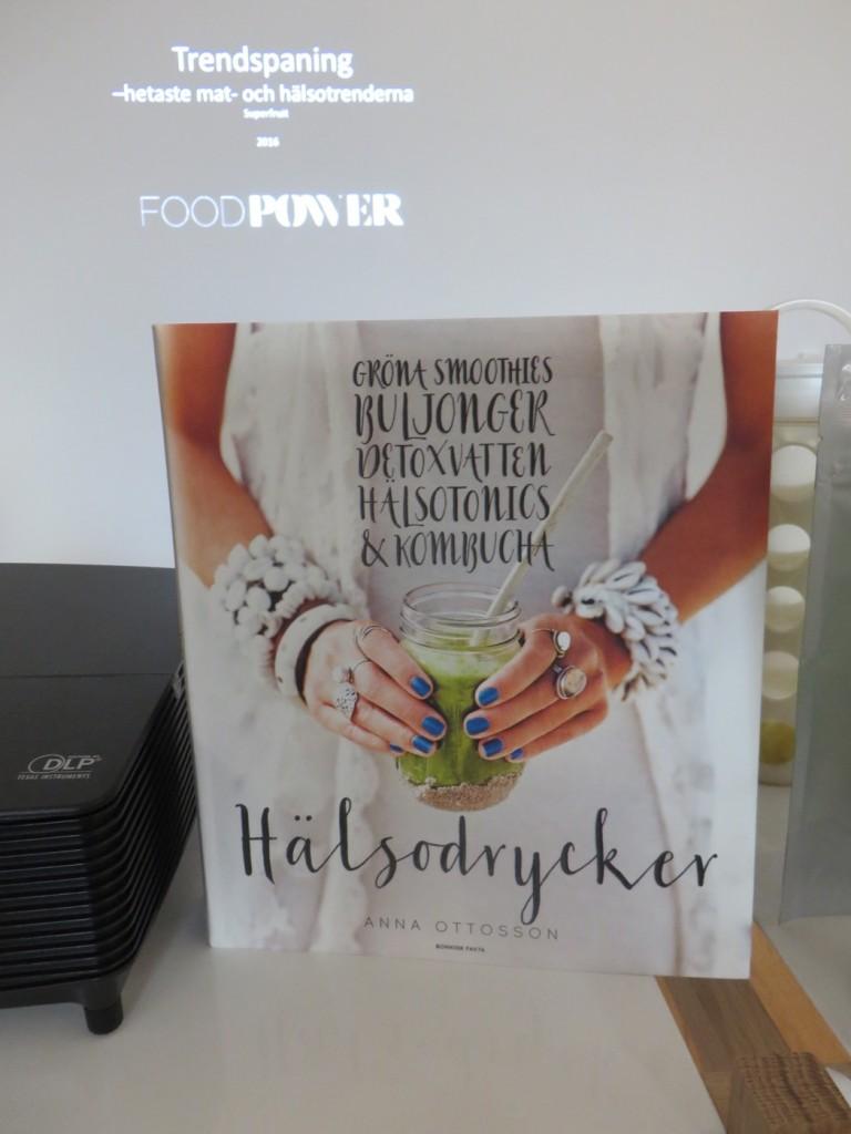 Anna Ottossons senaste bok Hälsodrycker