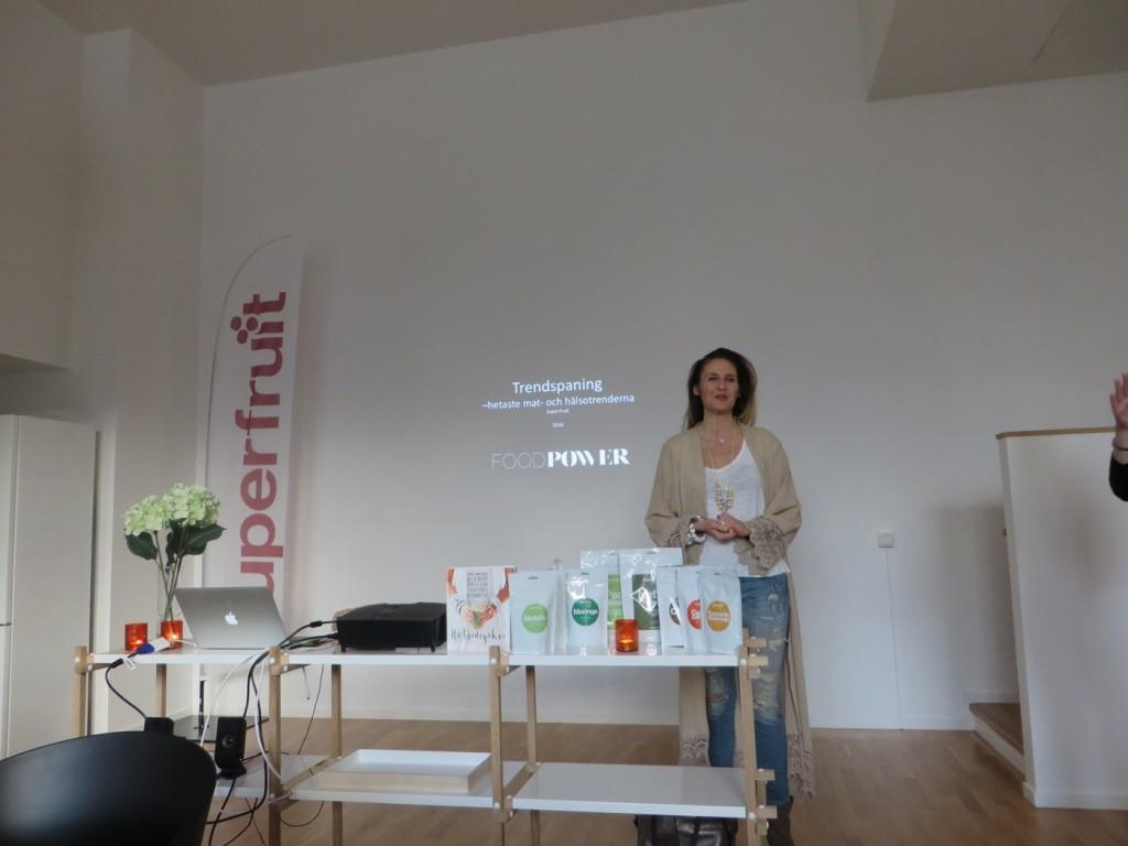 Trendföreläsning med Anna Ottosson hos Superfruit