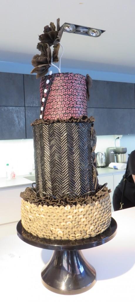 En helt magnifik och supergod lakritstårta gjord av Liv Sandberg