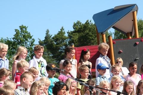 Förskoleklassen sjunger