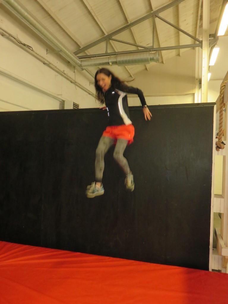 Hjälp, läskigt att hoppa ner!