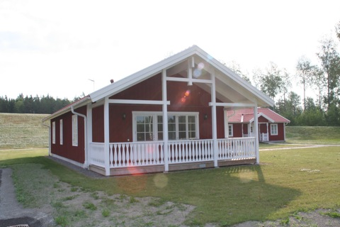 Vår stuga i Skedvistrand