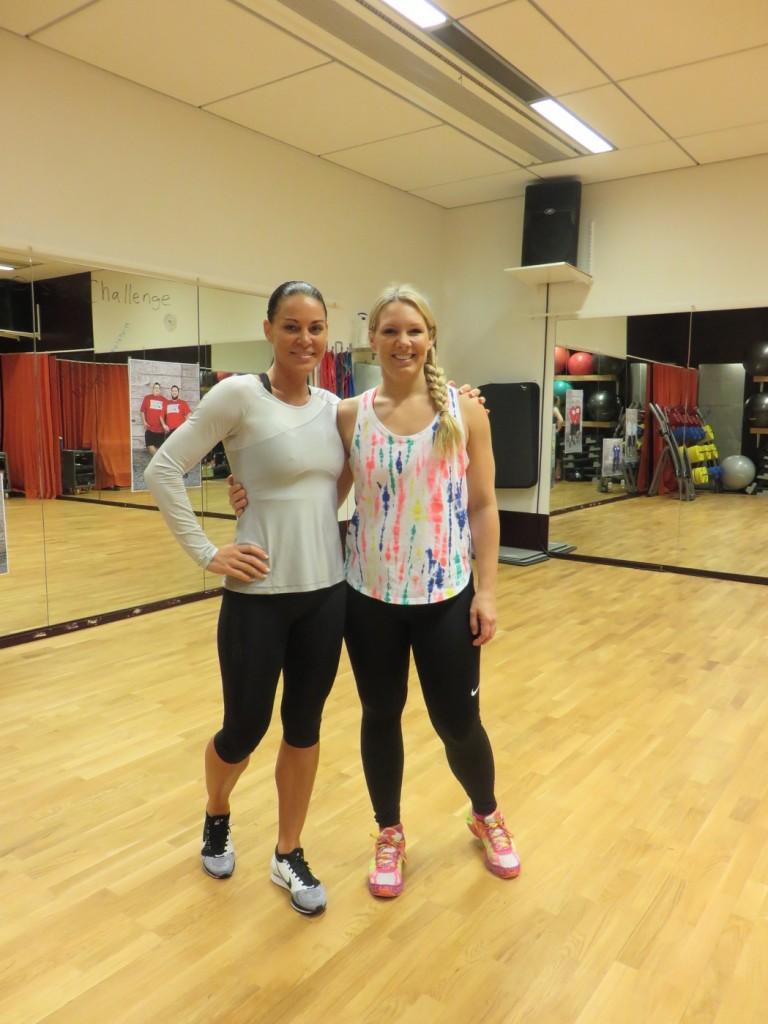 Sabina Dufberg och Anna Brolin