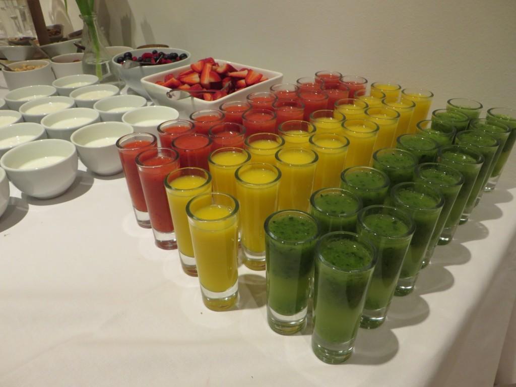 Färggrann frukost