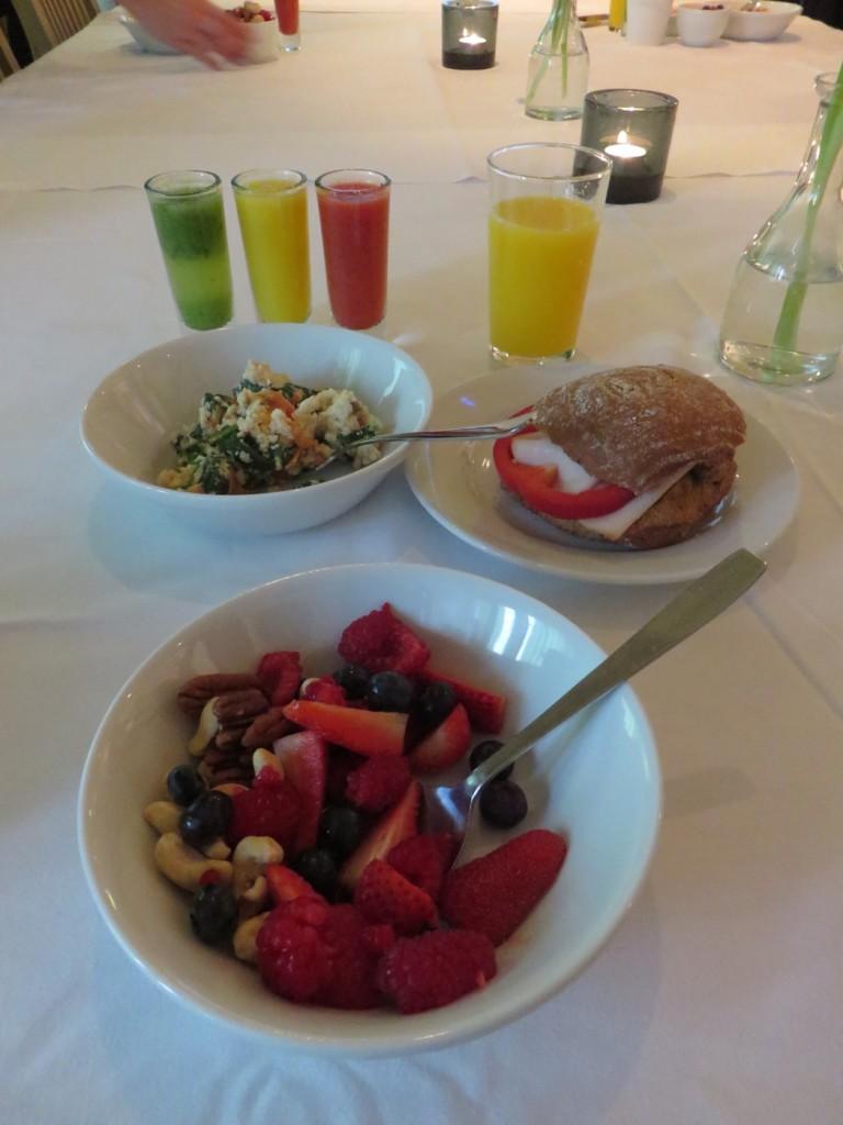 En frukost både för öga och gom!
