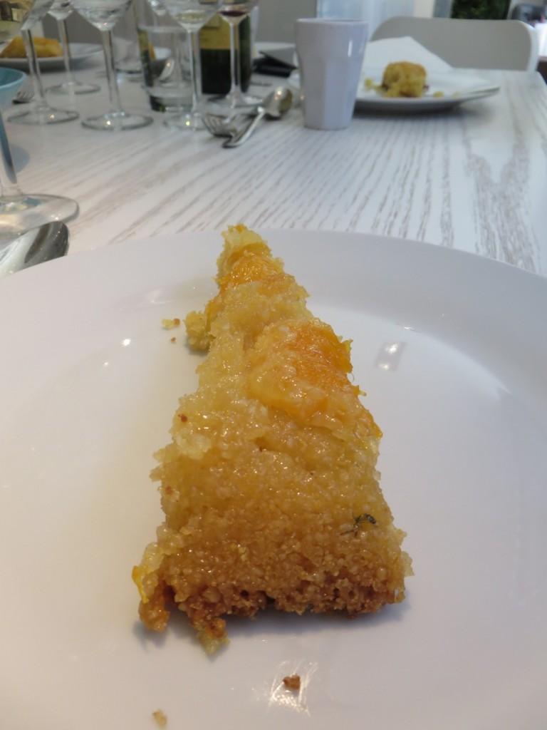 Apelsin polenta och mandelkaka