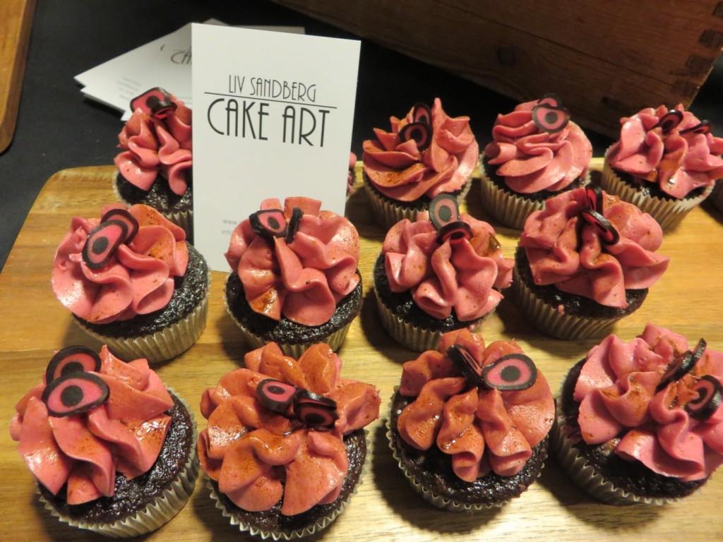 Fantastiska cupcakes från Cake Art.