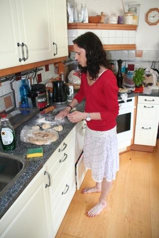 Bakning av tunnbröd