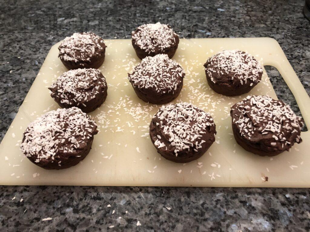 Proteinrika muffins