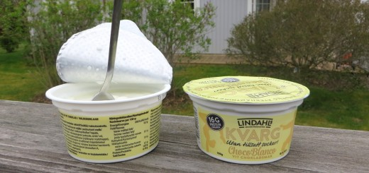 Ny favorit på Lindahls kvarg - Choco Blanco!