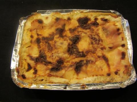 Förberedd lasagne - bara att hugga in!