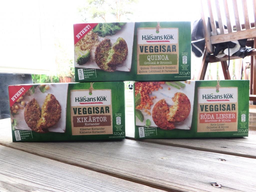 Veganska grönsaksbiffar från Hälsans Kök