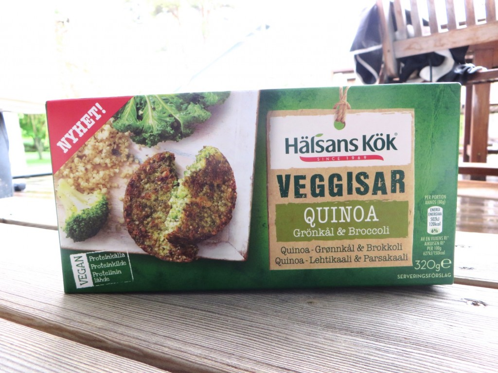 Veggisar Quinoa Grönkål
