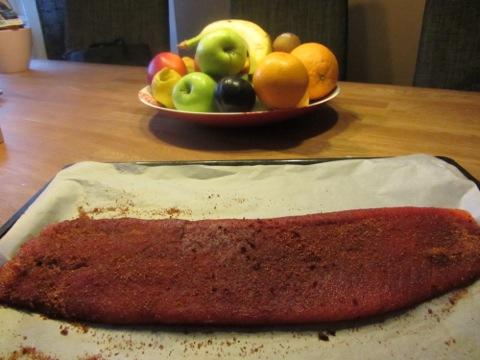 Smoked paprika-kryddad salmalax