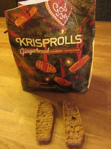 Krisprolls med smak av pepparkaka