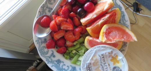 Färgstarka sommarfrukostar