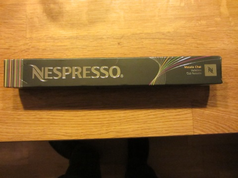 Årets Nespresso-variation Masala Chai