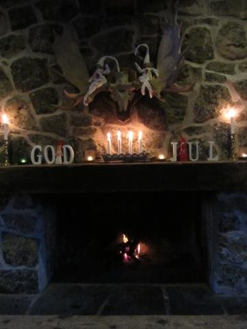 God jul från värmestugan i Björnrike
