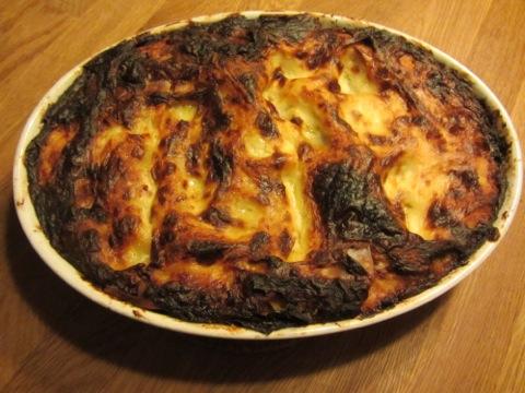 Fantastisk lasagne!