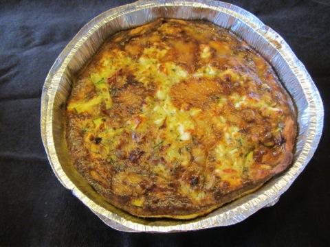 Nyttig Zucchinipaj med skinka