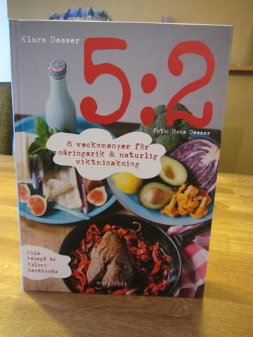 Ny kokbok från Klara Desser om 5:2-dieten