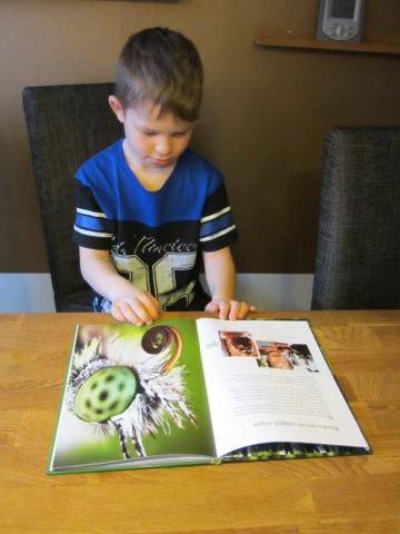 En fascinerande bok både för barn och vuxna