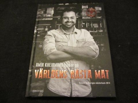 Sveriges mästerkock 2014 - Amir och hans nya kokbok