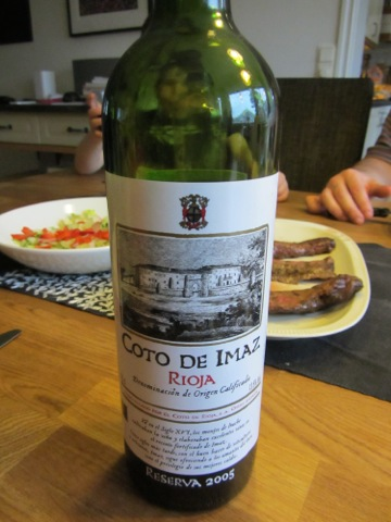 Riktigt gott vin till huvudrätten