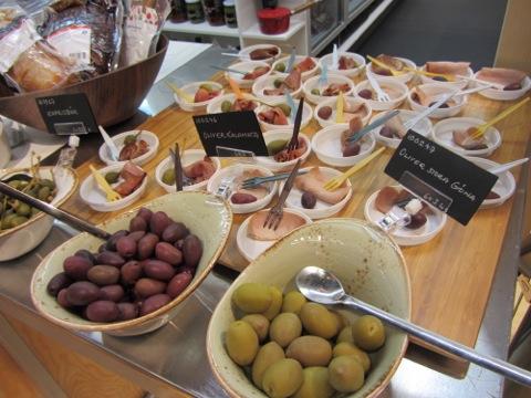 Lite chark och oliver