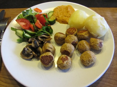 En näringsrik och väl sammansatt måltid