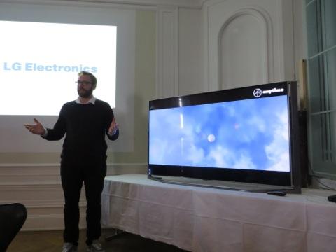 Presentation av LG Electronics