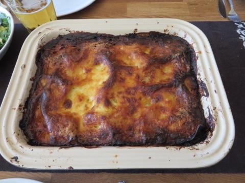 Grym lasagne
