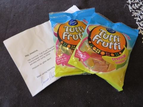 Ny smak på Tutti Frutti från Fazer