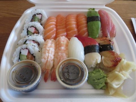 Fräsch och god sushi
