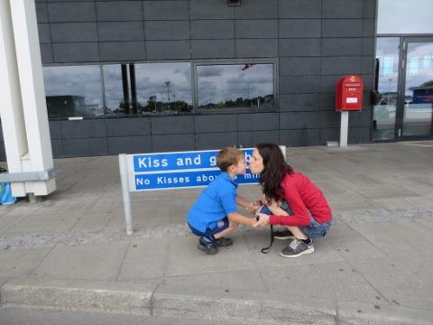 Kiss and goodbye - no kisses above 3 mins!