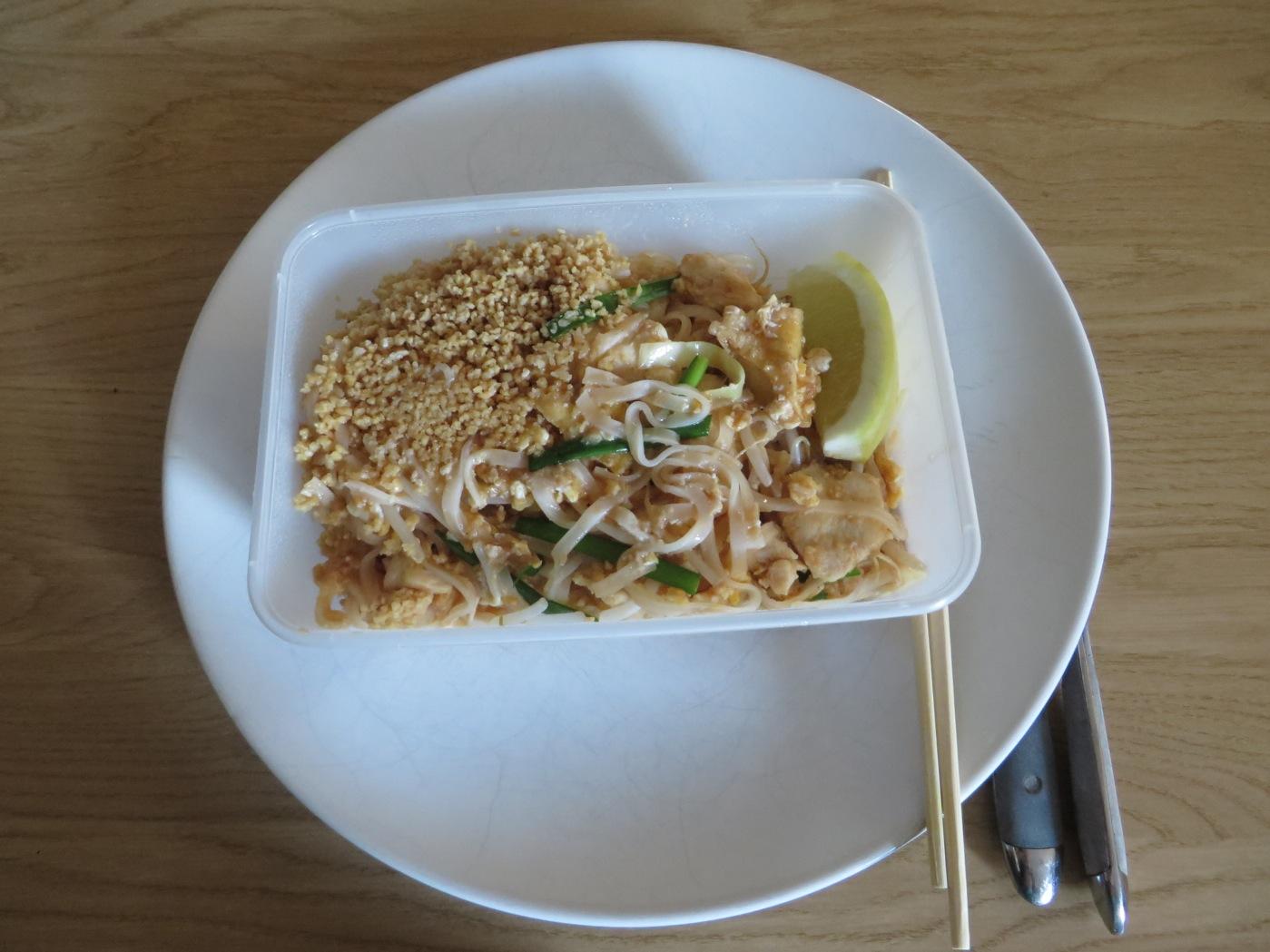 Pad Thai kyckling