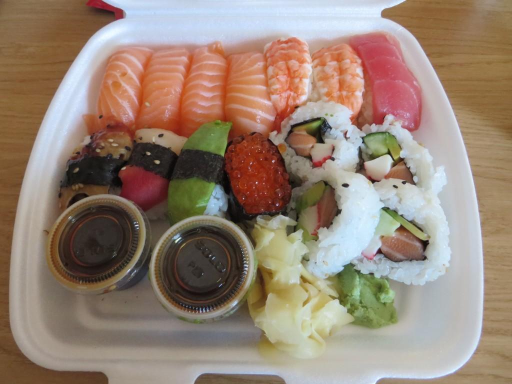 Sushi från Arigato