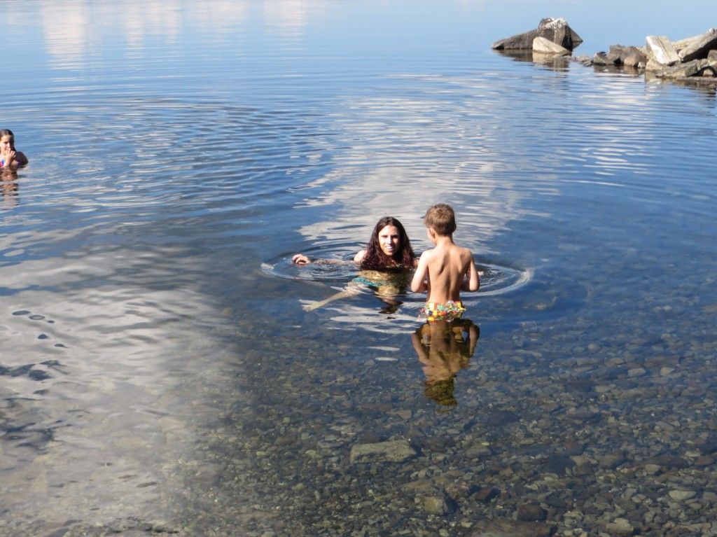 Bad i Storsjön