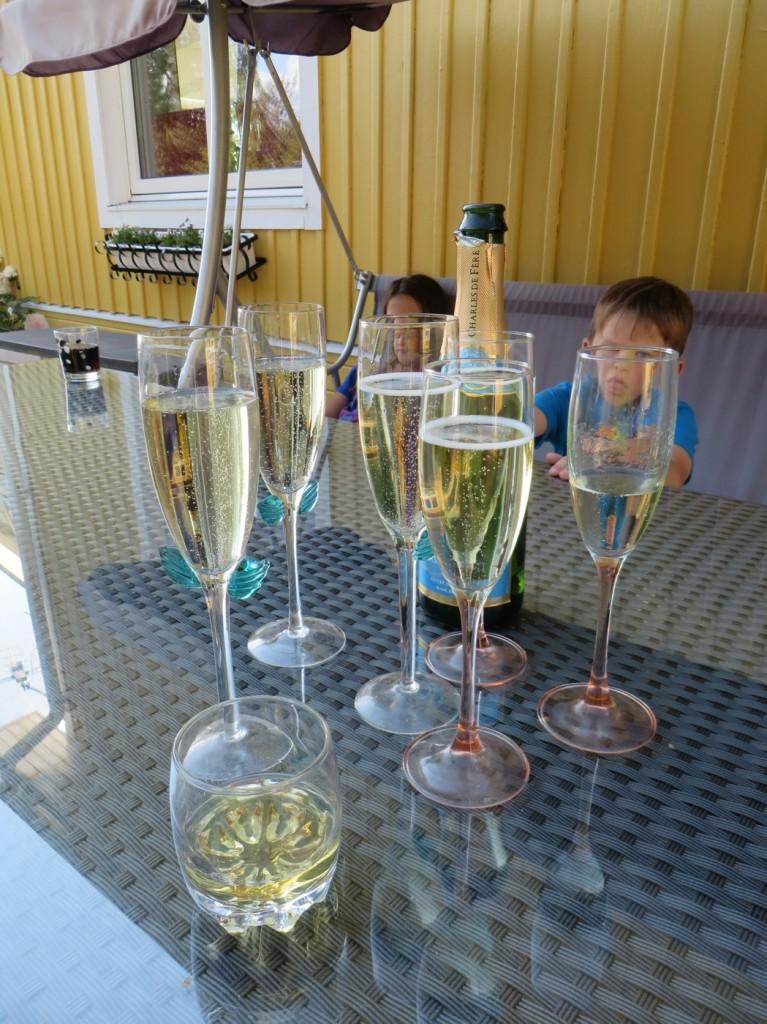 Bubbel för födelsedagsbarnet