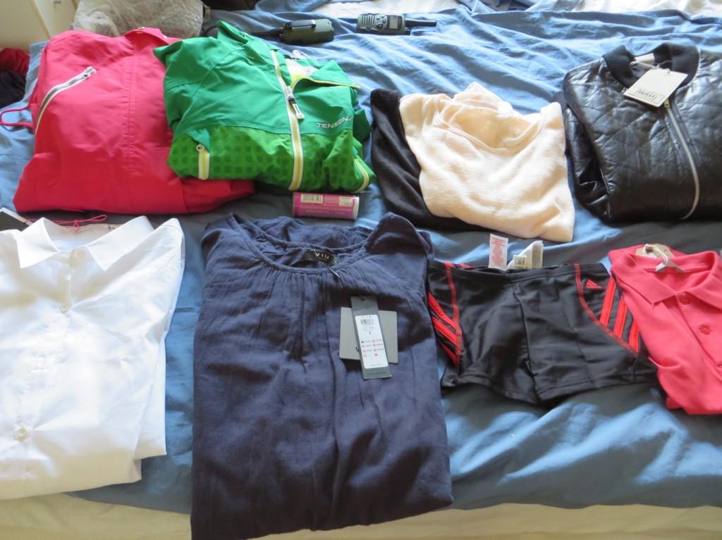 Förhoppningsvis bra inköp av kläder