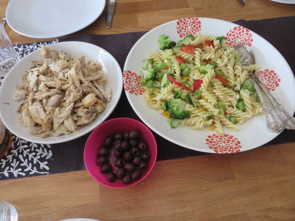 Söndagens fräscha lunch