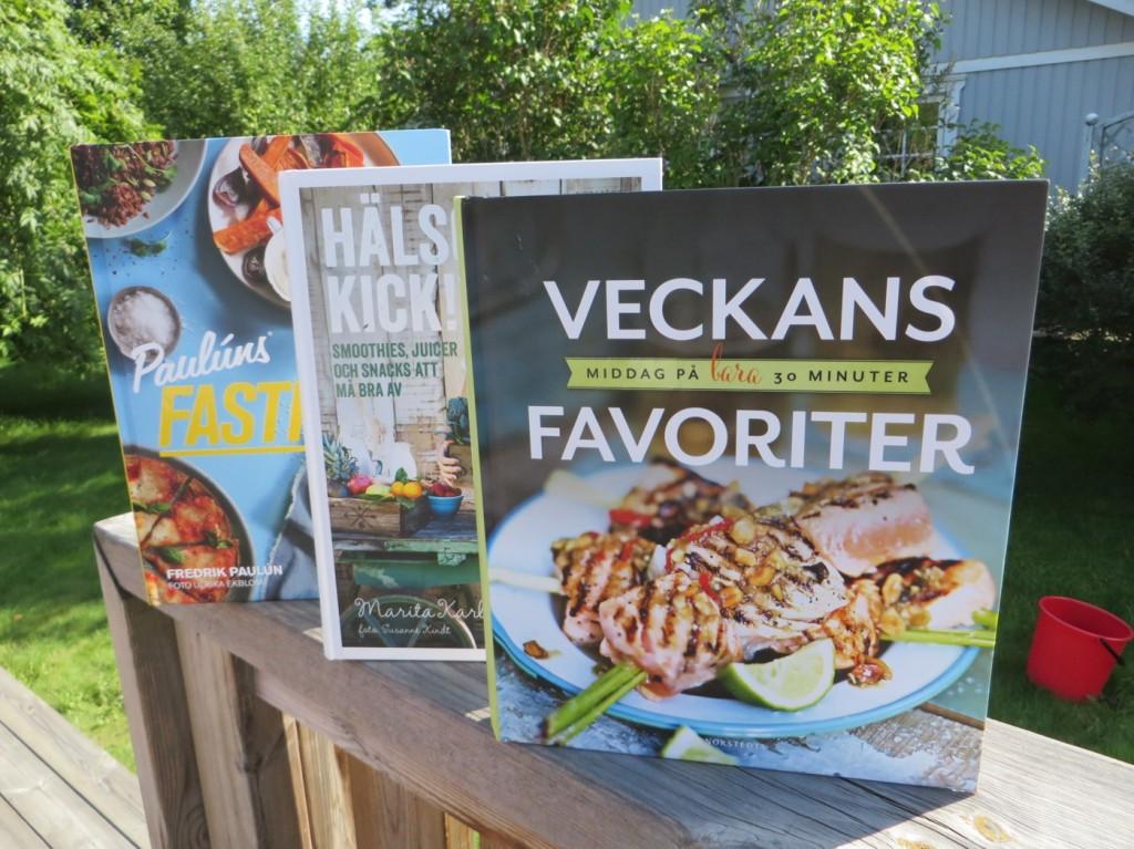 Fantastiska kokböcker med hälsoinriktning