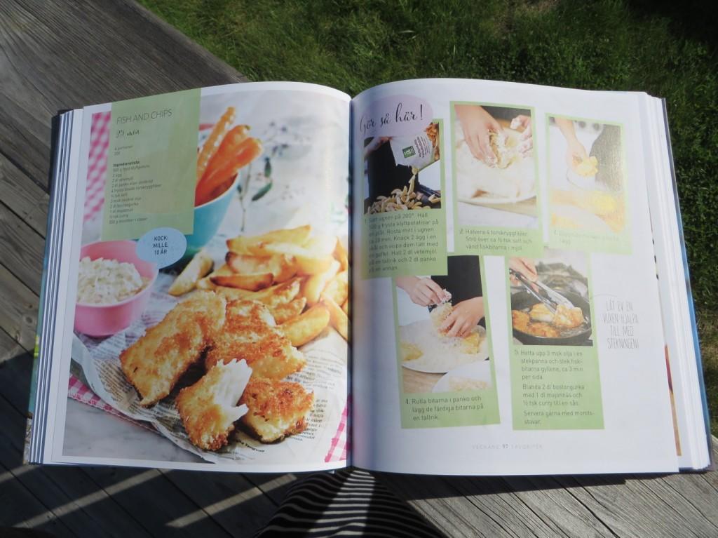 Barnens kockskola - enkla recept med tydliga instruktioner