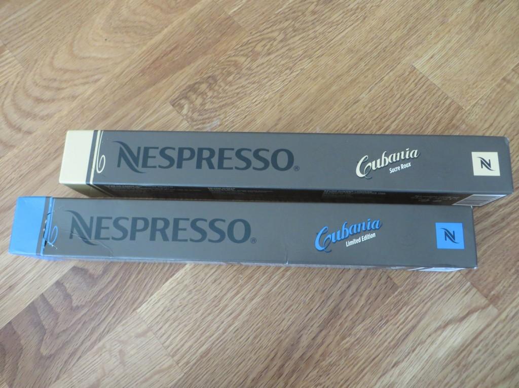 Goda nyheter från Nespresso